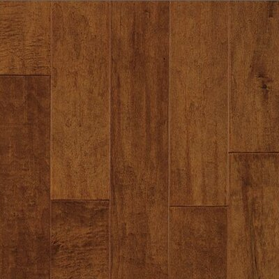 "Armstrong Century Farm Hand-Sculpted 5"" Engineered Maple Flooring in Burnt Almond"