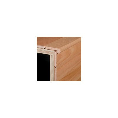 "Armstrong 0.75"" x 3.13"" Red Oak Stair nose in Auburn"