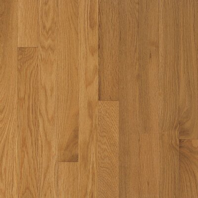 "Armstrong Somerset Plank 3-1/4"" Solid Oak Flooring in Large Maize"