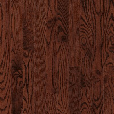 "Armstrong Yorkshire Plank 3-1/4"" Solid White Oak Flooring in Cherry Spice"