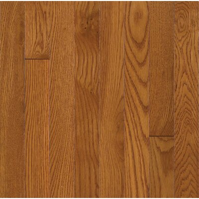 Bruce Flooring SAMPLE - Waltham™ Strip Solid White Oak in Brass