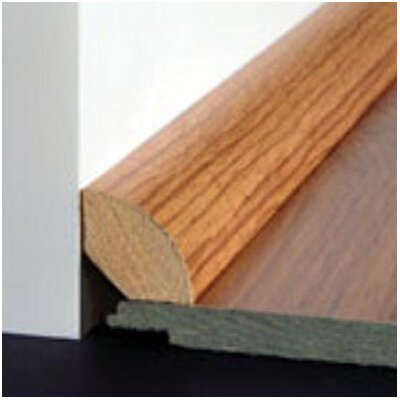 Bruce Flooring Laminate Quarter Round Bevel Trim in Teak, Royal Teak, Apple
