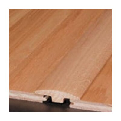 "Bruce Flooring 0.25"" x 2"" White Oak T-Molding in Nickel"