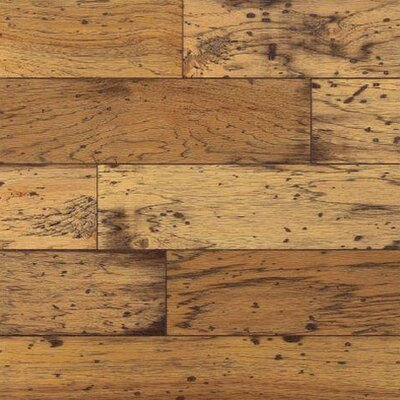 "Bruce Flooring American Originals Lock and Fold 5"" Engineered Hickory Flooring in Antique Natural"