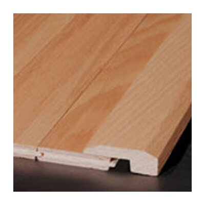 "Bruce Flooring 0.62"" x 2"" Hickory Threshold in Saddle - Sculpted"