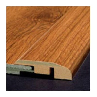 Bruce Flooring Laminate Reducer Strip with Track in Monzone- Cantabria