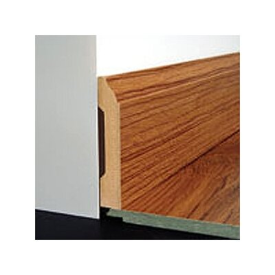 Bruce Flooring Laminate Wall Base Bevel Trim in Colonial Oak Honey, Provincial Oak Amber, Acacia Torres