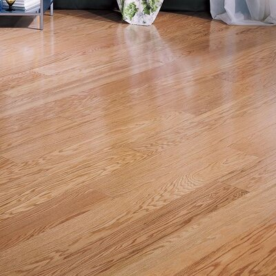 "Bruce Flooring Northshore Plank 7"" Engineered Red Oak Flooring in Natural"