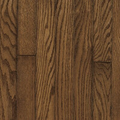 "Robbins Ascot Plank 3-1/4"" Solid Oak Flooring in Mink"