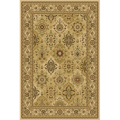 Central Oriental Interlude Hazel Ivory Rug