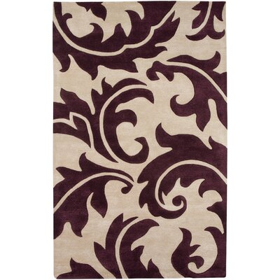 Blue Dark Ivory/Tulip Purple Rug