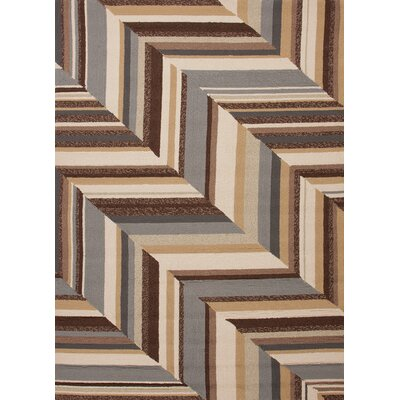 Jaipur Rugs Colours I-O Brown Stripe Rug