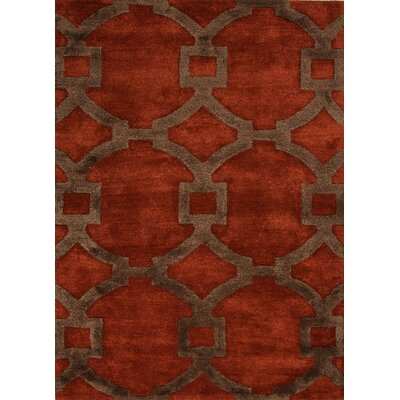 Jaipur Rugs City Red/Orange Geometric Rug