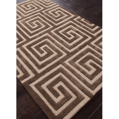 Jaipur Rugs City Brown Geometric Rug