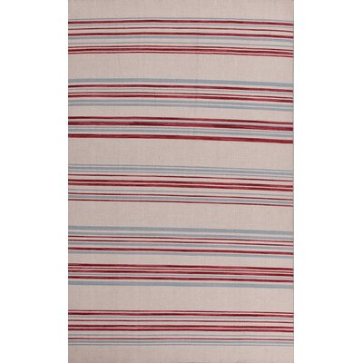 Pura Vida White Ice/Porcelain Blue Stripe Rug