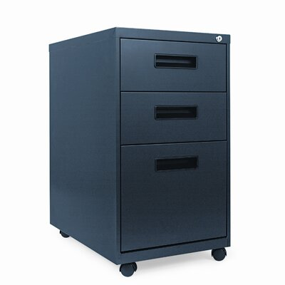 "Alera® 23.25"" Three-Drawer Mobile Pedestal File"