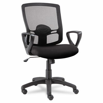Alera® Etros Series Mid-Back Mesh Swivel / Tilt Office Chair