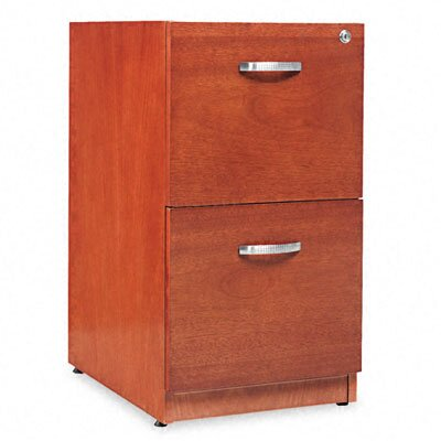 Alera® Verona Veneer Series Two-Drawer Pedestal File