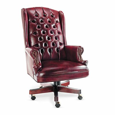 Alera® Traditional Series High-Back Wing Back Swivel / Tilt Office Chair