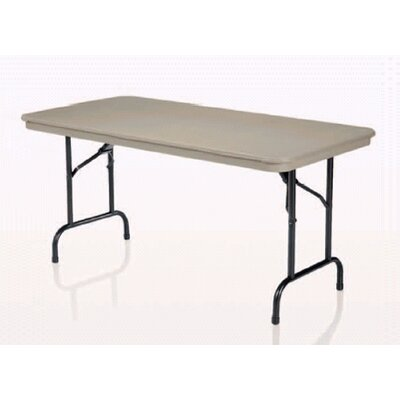 "KI Furniture 30"" x 72"" Duralite Folding Table"