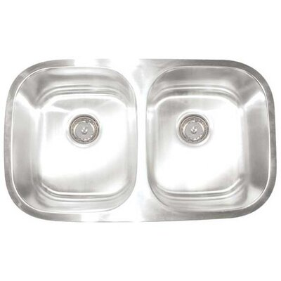 Premium Series Double Equal Undermount Kitchen Sink