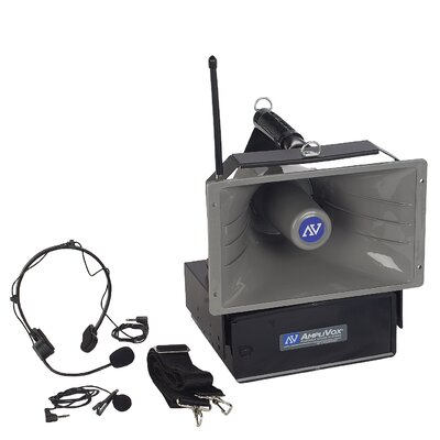 AmpliVox Sound Systems Wireless Half-Miler Hailer