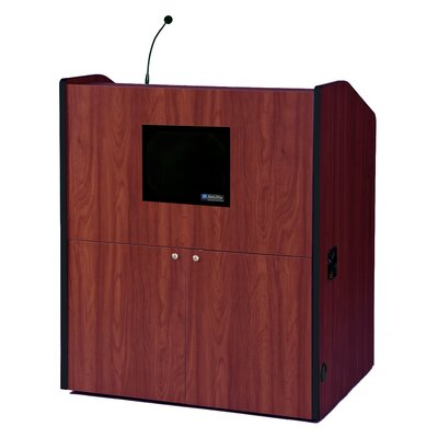 "AmpliVox Sound Systems Typr30"" Multimedia Smart Podium"