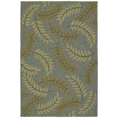 Kaleen Home & Porch White Marsh Azure Rug