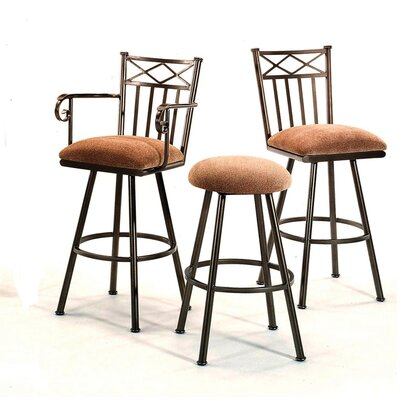"Tempo Arlington 26"" Counter Stool with Arms"