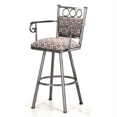 "Tempo Winston 26"" Counter Stool w/ Arms"