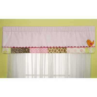 Carter's® Jungle Jill Rod Pocket Tailored Curtain Valance
