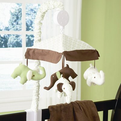 Carter's® Green Elephant Musical Mobile