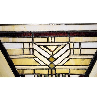 Dale Tiffany Oakpark Mission 1 Light Wall Sconce