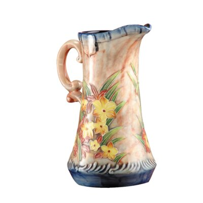 Dale Tiffany Spring Time Pitcher