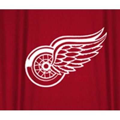 Sports Coverage Inc. Detroit Red Wings Shower Curtain
