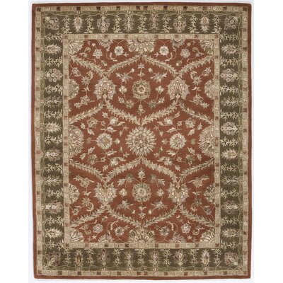 Rugs America Dynasty Rustic Brown/Red Rug