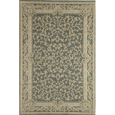 Rugs America Verona Light Blue Vines Rug