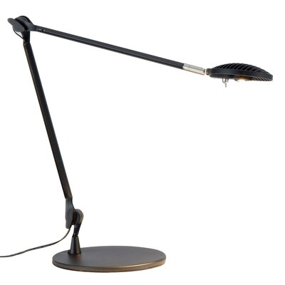 Shutter 1 Light LED Desk Lamp