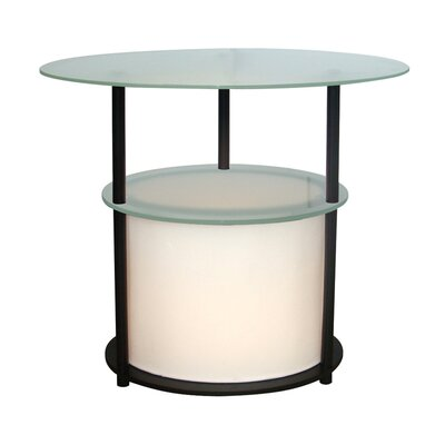 Adesso Marvin Oval 1 Light Table