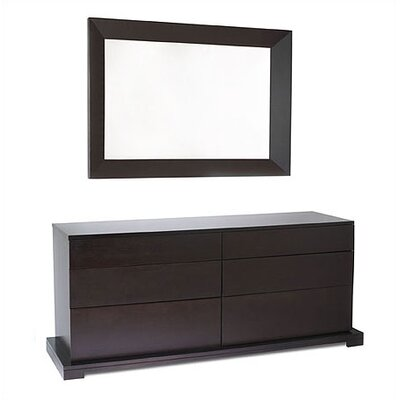 LifeStyle Solutions Zurich 6 Drawer Dresser