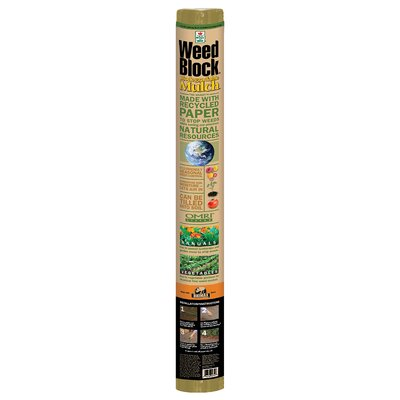 Easy Gardener Weedblock Natural Biodegradable Mulch