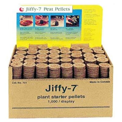 Jiffy 1000 Peat Pellets without Hole
