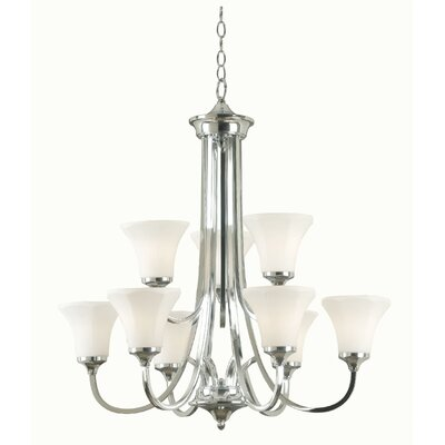 Ewing 9 Light Chandelier