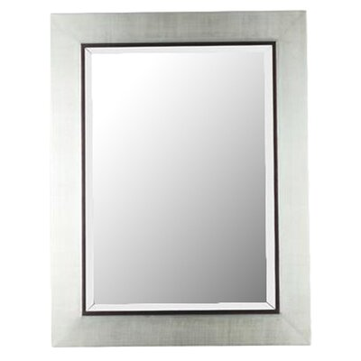 Dolores Rectangular Wall Mirror in Silver