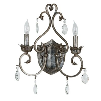 Kenroy Home Antoinette 2 Light Wall Sconce