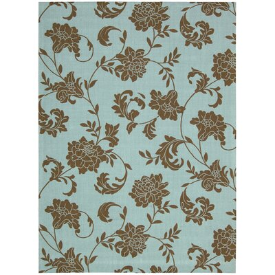 Nourison Home &amp; Garden Light Blue Rug