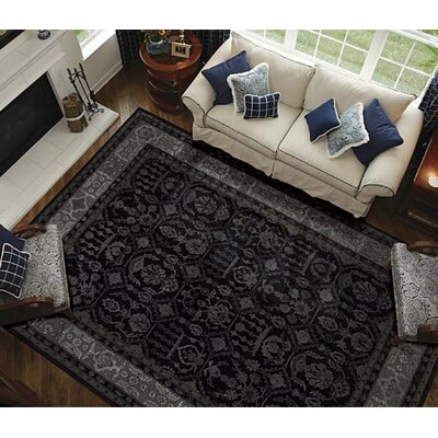 Nourison Regal Black Rug