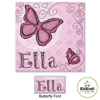 KidKraft Personalized Butterfly Door Hanger