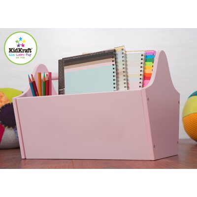KidKraft Personalized Toy Box Caddy in Pink