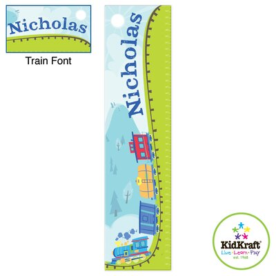 Personalized Train Growth Chart